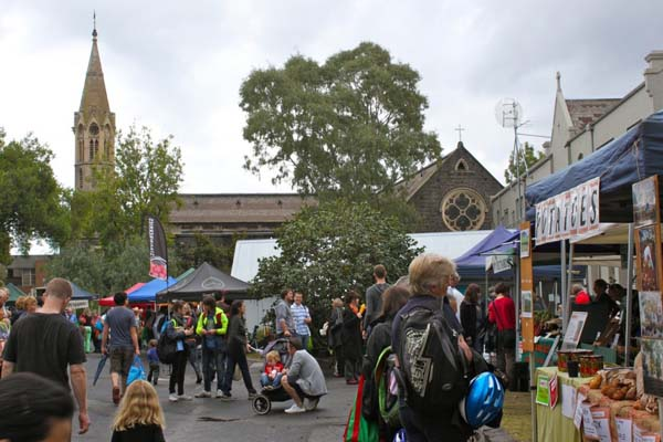 Supper Market at Abbotsford Convent
